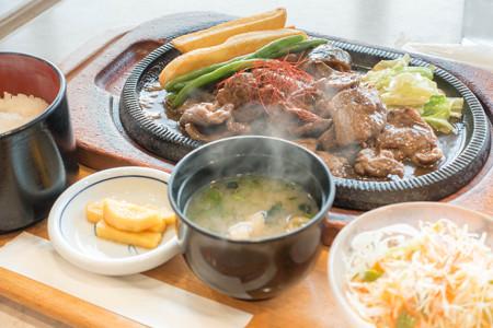 ジンギスカン定食(米子道【上り】・蒜山高原SA)・1