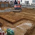 写真: 岸和田市・基礎着手2