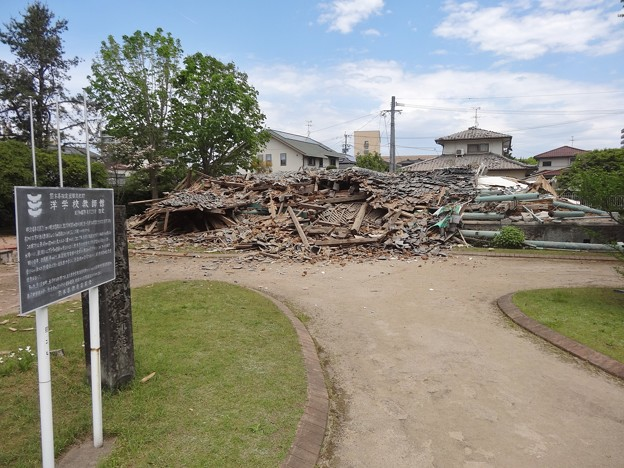 倒壊したジェーンズ邸2 2016-04-16