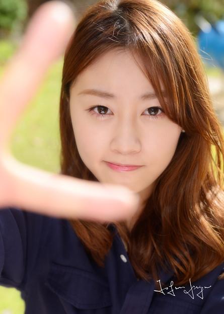 MINAユナの顔