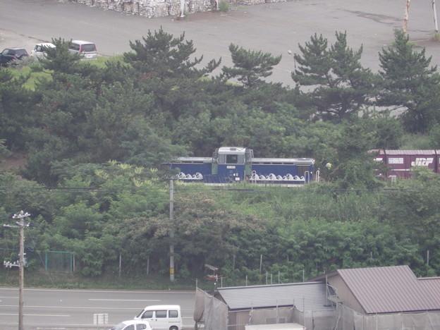 構内入換作業中の『秋田臨海鉄道』DD56‐2
