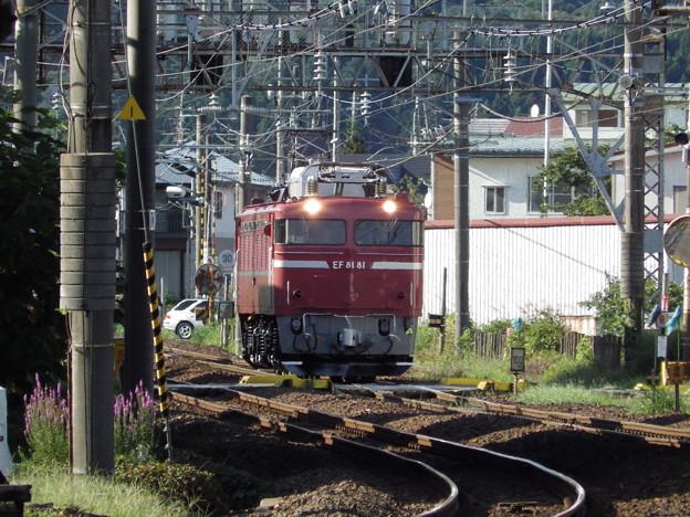 奥羽本線~EF81‐81単機 vol.1