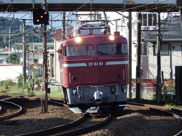 奥羽本線~EF81‐81単機 vol.2
