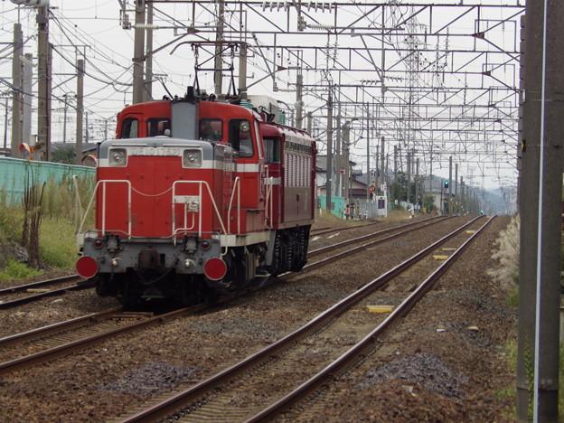 EF81‐134牽引DE10‐1752配給 後追いは失敗^^;