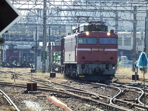 EF81‐729牽引 2093レ vol.2