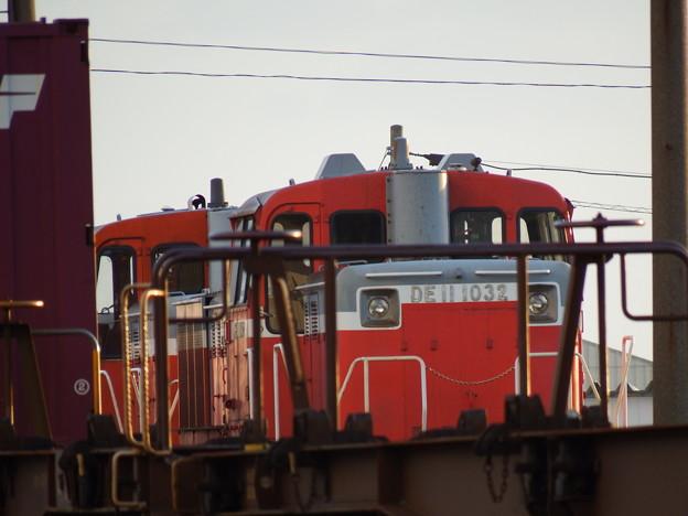 秋田港駅~DE11-1032