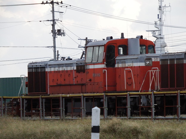 秋田港駅~DE10-1512