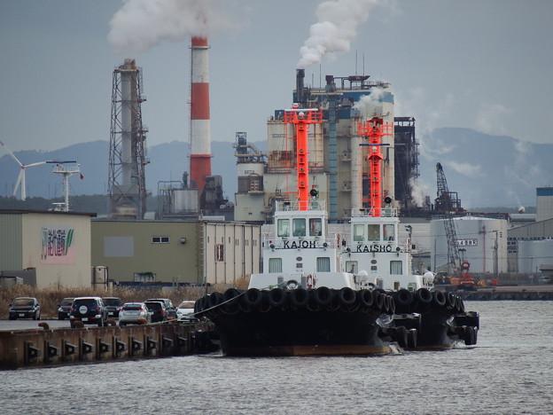 Photos: タグボートと製紙工場 vol.2