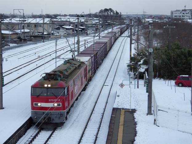 蔵出し~雪景色&奥羽本線下り貨物