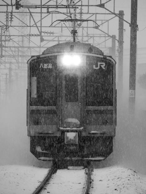 701系N8編成 八郎潟行き
