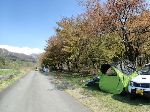 白馬 アルプス オート キャンプ 場