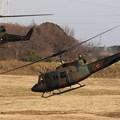 Photos: 降下訓練始め28 UH-1