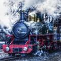 写真: 雨、蒸気、スピード~Steamroller