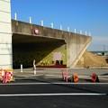 写真: 新4号国道、道の駅ごか近くの立体交差撤去状況は?その6