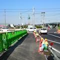 写真: 新4号国道、道の駅ごか近くの立体交差撤去状況は?その7