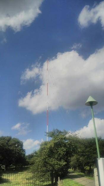 【文化放送送信所へ!その5】これが送信アンテナ