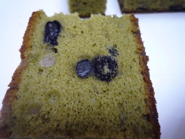 黒豆抹茶カステラ14