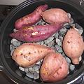 写真: 焼き芋なべ