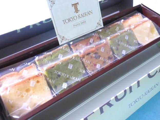 写真: 東京會舘のフルーツケーキ3