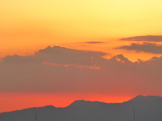 Photos: 六甲山の夕焼け