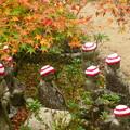 Photos: 紅葉とお地蔵さま@大聖院