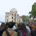 Photos: 原爆ドームのボランティアガイド