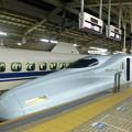 白藍カラーの九州新幹線 さくら