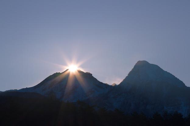 八ヶ岳からの日の出