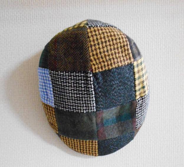 824_息子から帽子