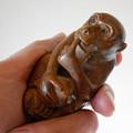 写真: 16_昔台湾の路上でで買った猿