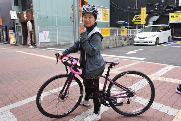 ヘルメットとサイクルパンツを購入して早速着用