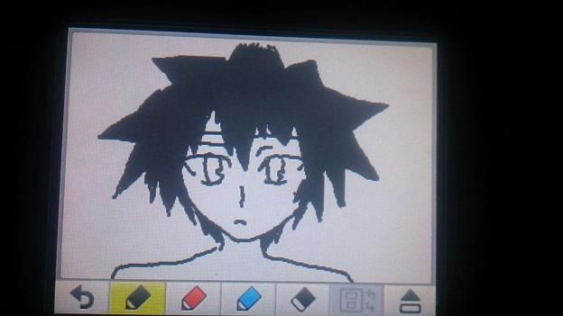 Photos: 3DSのメモ機能でヴァニタス描いてみた
