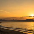 写真: 志賀島の夕陽♪