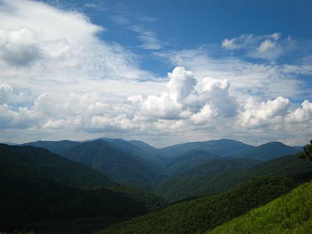 山頂手前からの眺望
