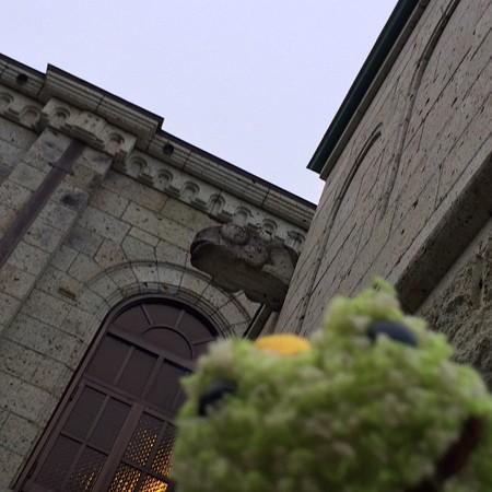 松が峰教会かえるガーゴイル