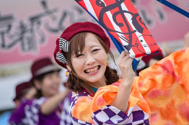 京都さくらよさこい2016 夢源風人