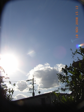 2008/11/18午後 南