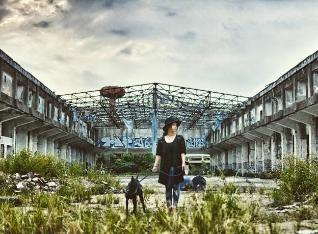 樹林-廢墟
