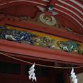 Photos: 伊佐爾波神社の彫刻