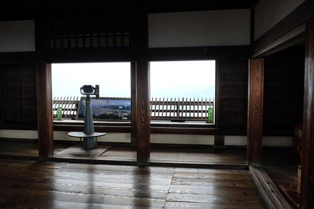 松山城天守閣内部