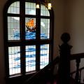 Photos: 萬翠荘のステンドグラス