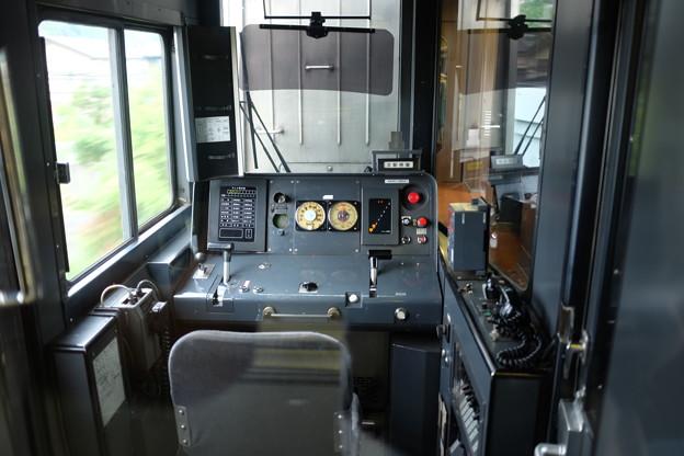 電車の運転室