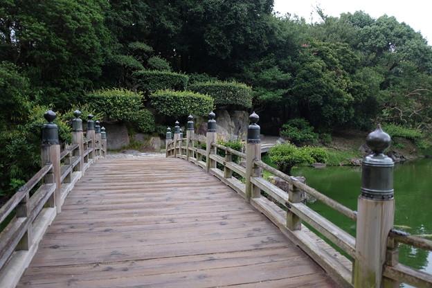 栗林公園の木橋