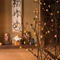 写真: 団子で飾る正月  ~New Year's in an old private house~