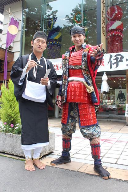 26.7.17伊達武将隊・松尾芭蕉と真田信繁