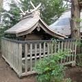 写真: 27.11.30須賀神社本殿
