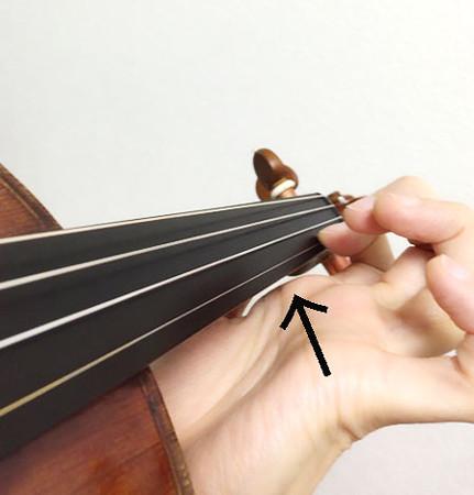 中野・江古田 バイオリン 個人レッスン ヴィオラ 吉瀬弥恵子 ワイズ音楽教室 力が入りがちな所