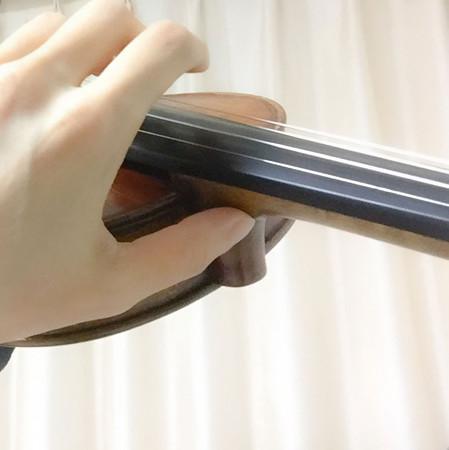 中野・江古田 バイオリン 個人レッスン ヴィオラ 吉瀬弥恵子 ワイズ音楽教室 親指の位置