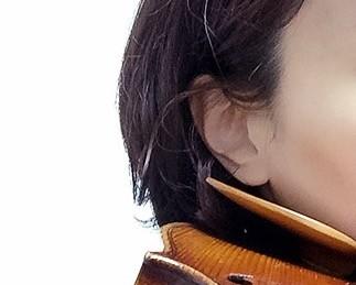 中野・江古田 バイオリン 個人レッスン ヴィオラ 吉瀬弥恵子 ワイズ音楽教室 あごは浮いてます