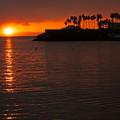 写真: 夕陽にもありがとう!!
